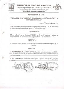 Resolucion de I.M. Nº 04/09